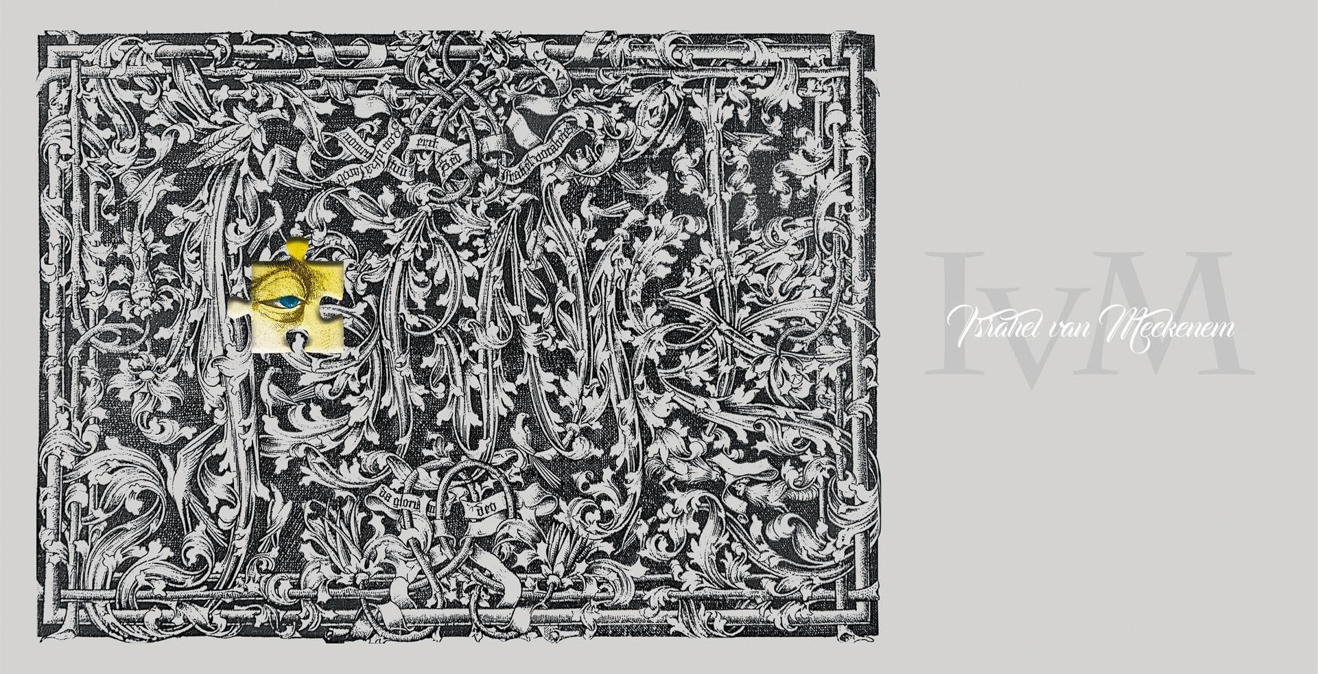 Israhel van Meckenem Kupferstich mitPuzzle
